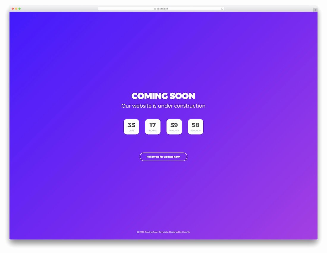 23 Free Under Construction & Ing soon Website Templates