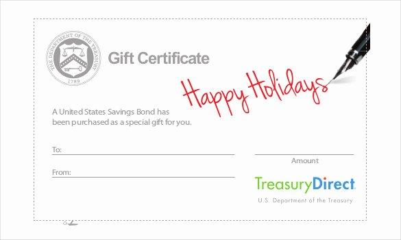 23 Holiday Gift Certificate Templates Psd