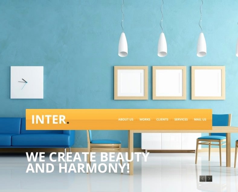 23 Interior Design Website themes & Templates