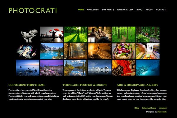 23 Mind Blowing Graphy Website Templates