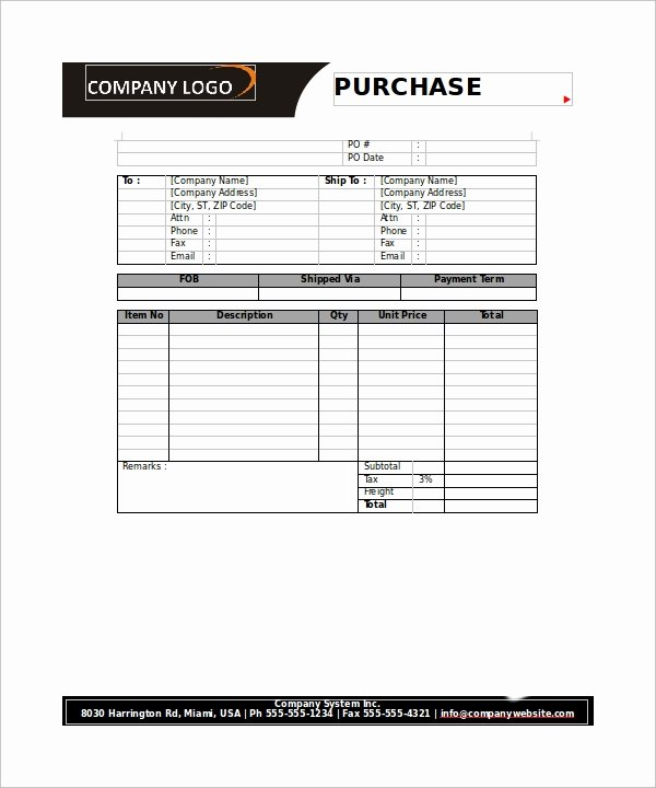 23 order form Templates – Pdf Word Excel