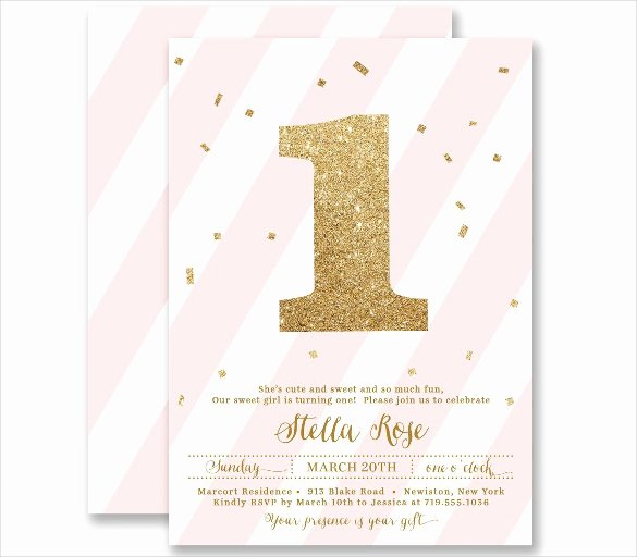 23 Personalized Birthday Invitation Templates – Psd Word