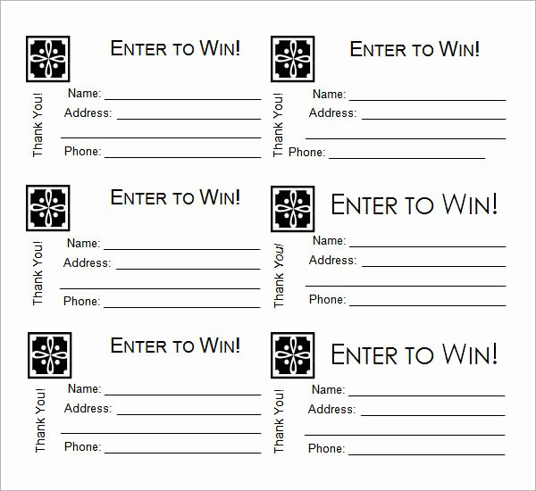 23 Raffle Ticket Templates – Pdf Psd Word Indesign