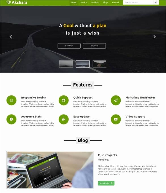 23 Responsive HTML5 themes & Templates