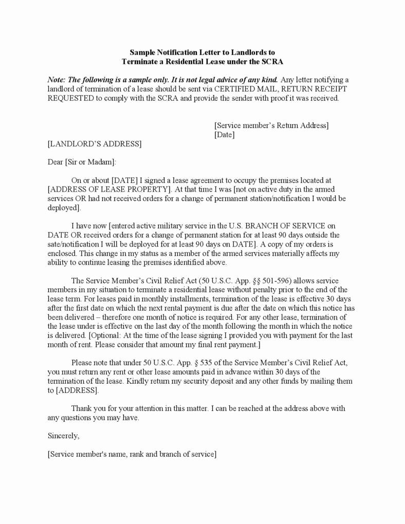 23 Termination Letter Templates Samples Examples