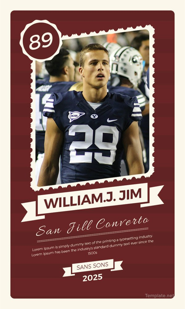 23 Trading Card Templates