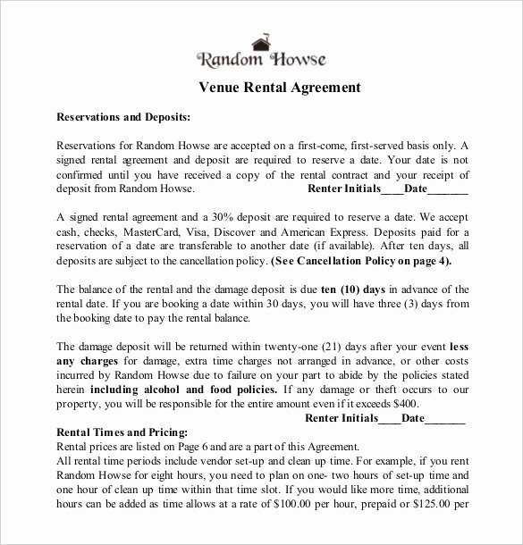 23 Wedding Contract Templates – Free Sample Example