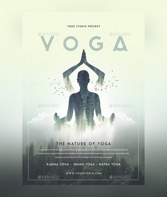 23 Yoga Flyer Psd Templates Free & Premium Designyep
