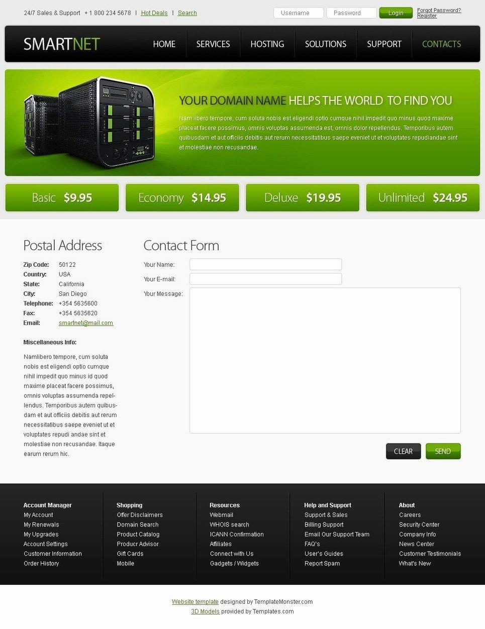 230 Free Responsive HTML5 Css3 Website Templates