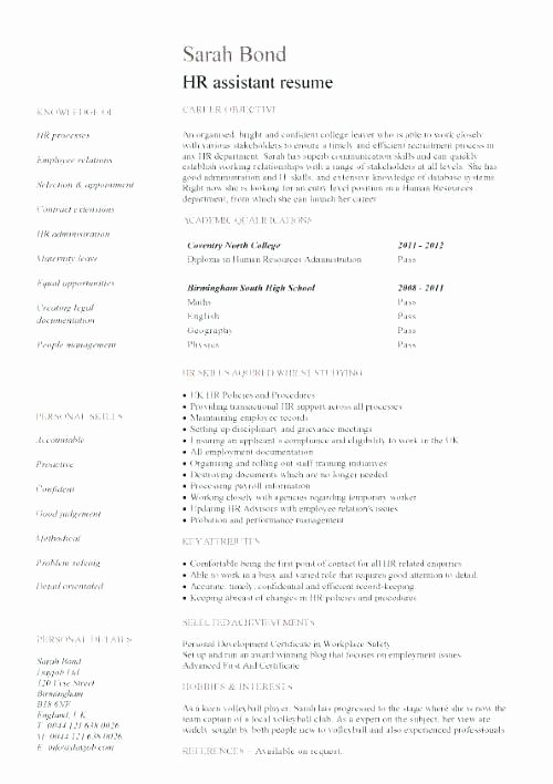 24 Awesome Current Nursing Student Resume