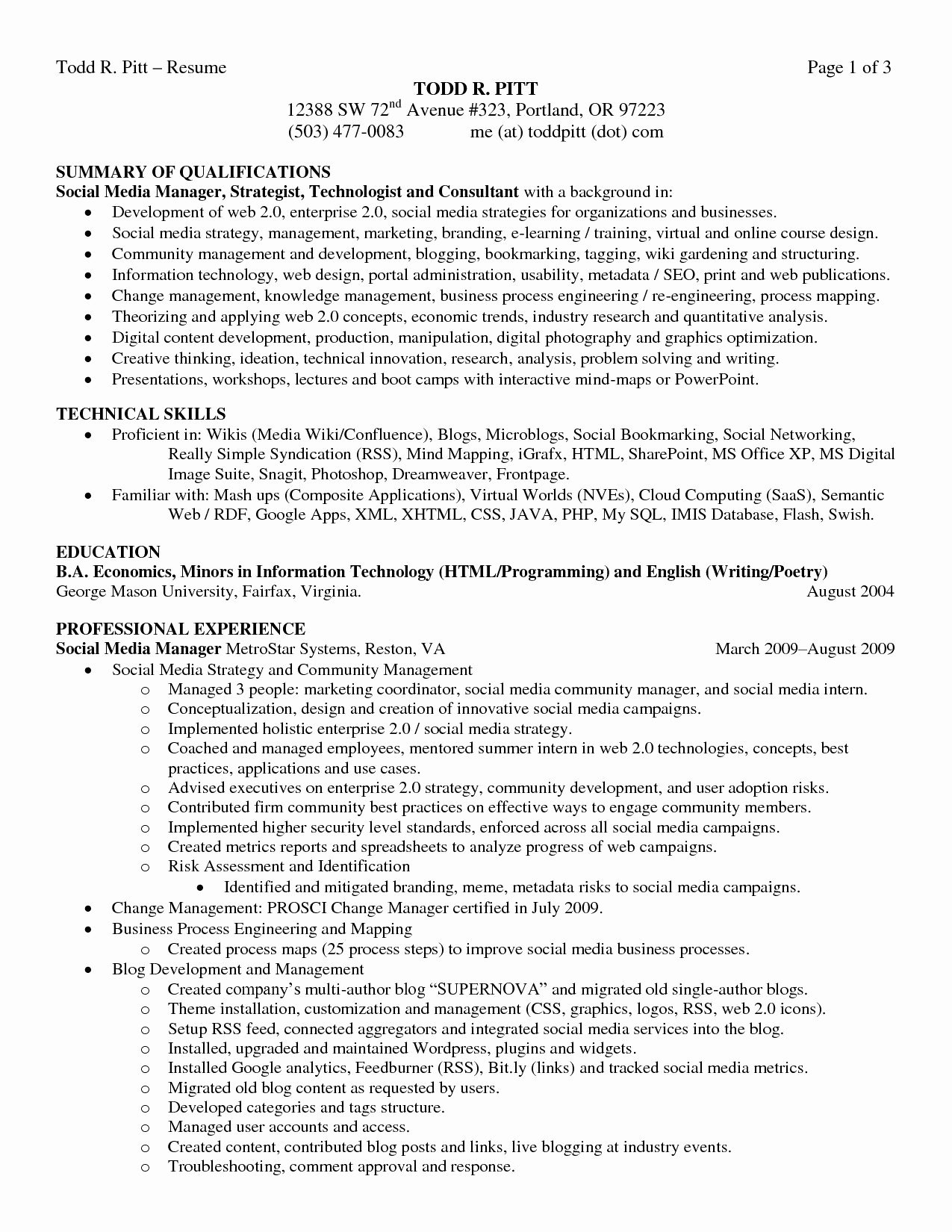 24 Awesome Step by Step Resume