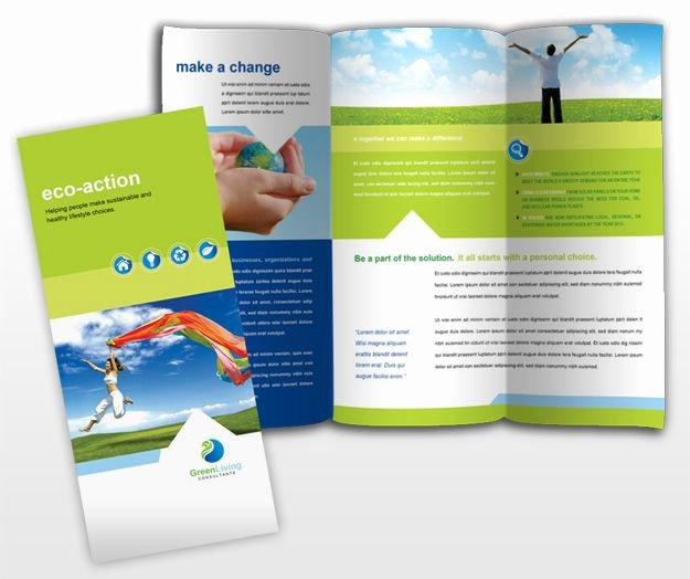 24 Best 3 Fold Brochure Images On Pinterest
