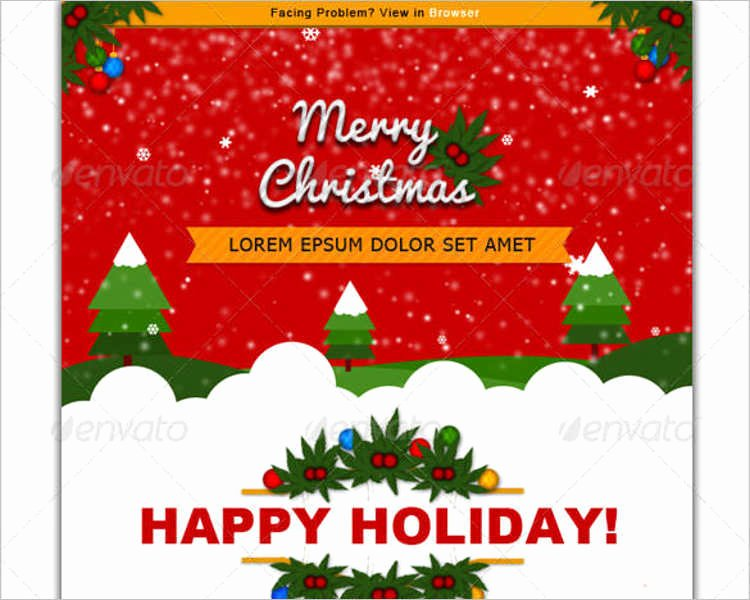 24 Best Christmas Email Templates Creativetemplate
