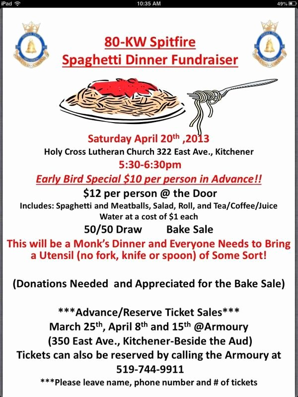 24 Best Images About Spaghetti Dinner Fundraiser On