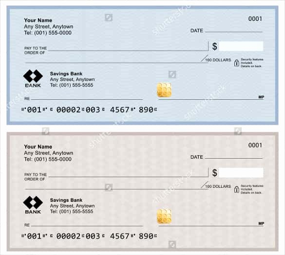 24 Blank Check Template Doc Psd Pdf & Vector formats