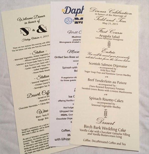 24 Dinner Party Menus