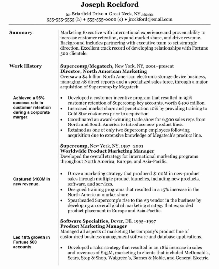 24 Great Marketing Resume Objective Hd A – Resume