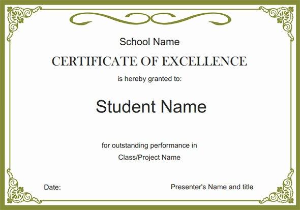 24 Printable Sample Certificate Templates