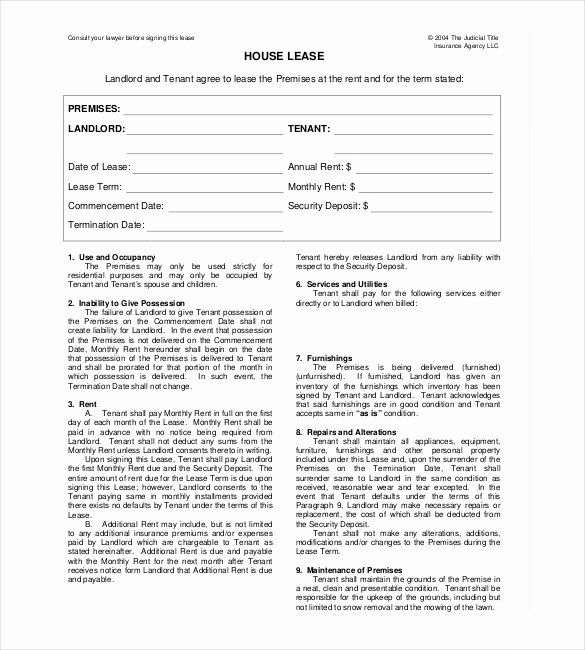 24 Rental Agreement Templates Pdf Doc