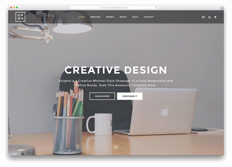 24 Simple Website Templates HTML & Wordpress 2018 Colorlib
