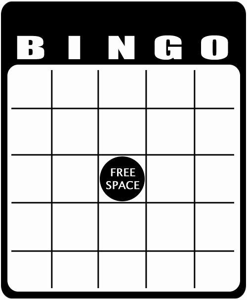 25 Best Blank Bingo Cards Ideas On Pinterest
