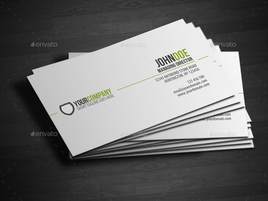 25 Best Business Card Templates Shop Designs 2017