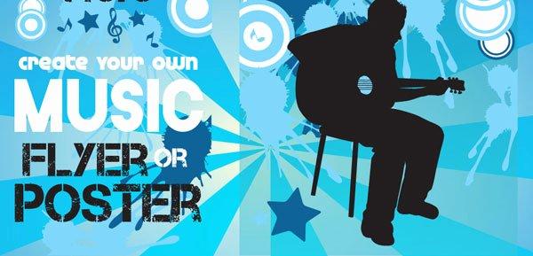 25 Best Free & Premium Music Poster Templates Designmaz