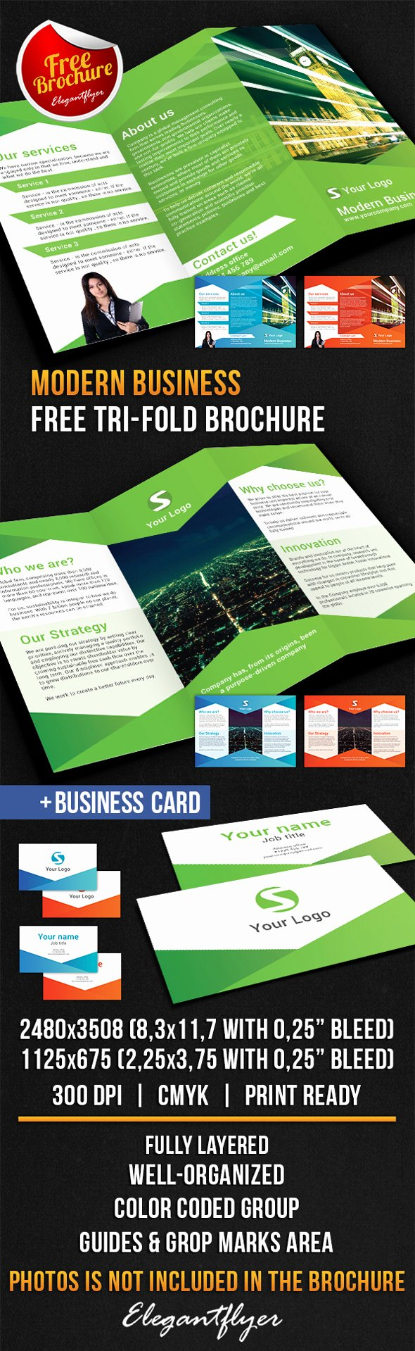25 Best Free Psd Brochure Templates
