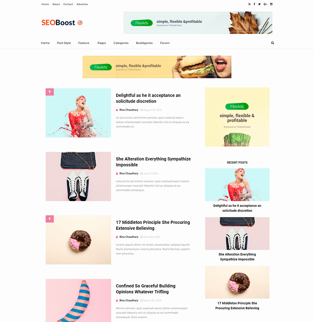 25 Best Free Responsive Blogger Templates 2018