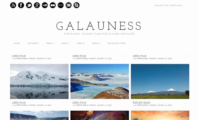 25 Best Free Responsive Blogger Templates Ever [seo