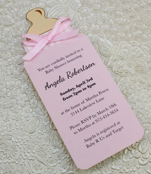 25 Best Ideas About Baby Shower Invitations On Pinterest