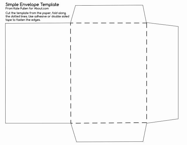 25 Best Ideas About Envelope Templates On Pinterest