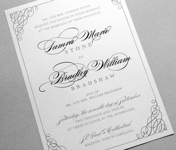 25 Best Ideas About formal Wedding Invitation Wording On