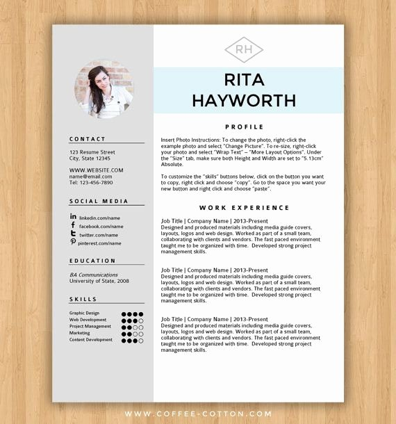 25 Best Ideas About Free Cv Template Word On Pinterest