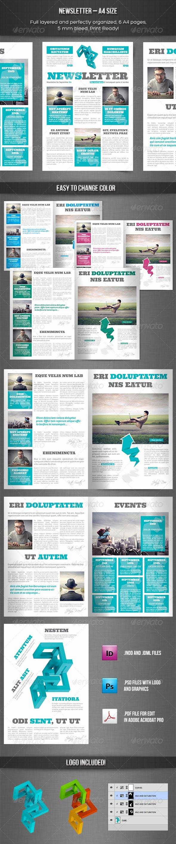 25 Best Ideas About Newsletter Design On Pinterest