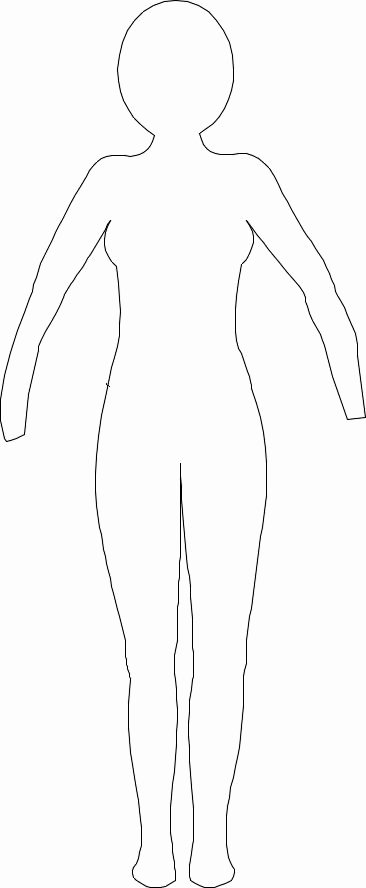 25 Best Ideas About Paper Doll Template On Pinterest