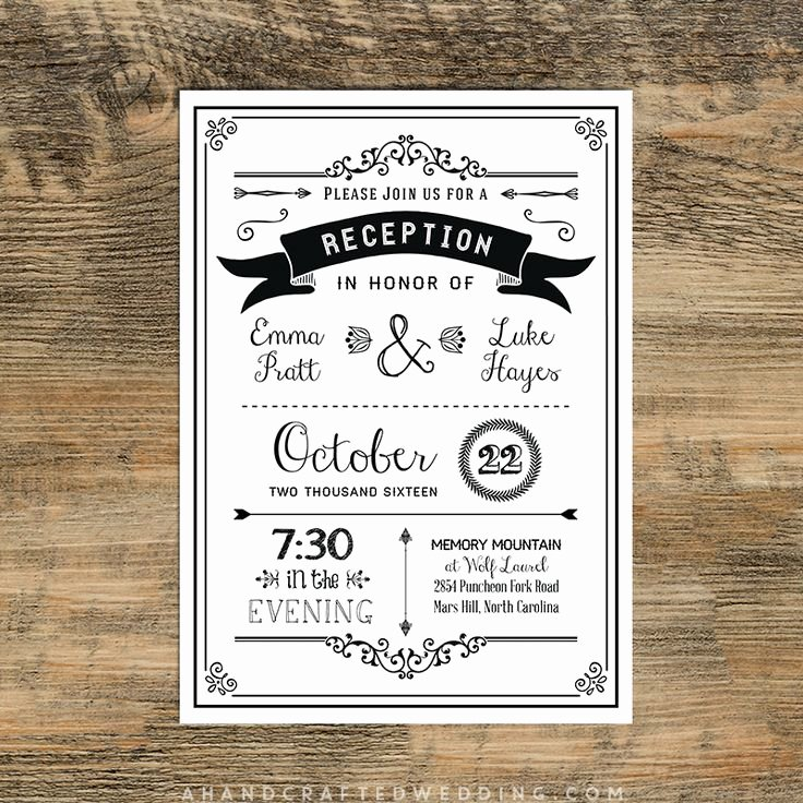 25 Best Ideas About Reception Invitations On Pinterest