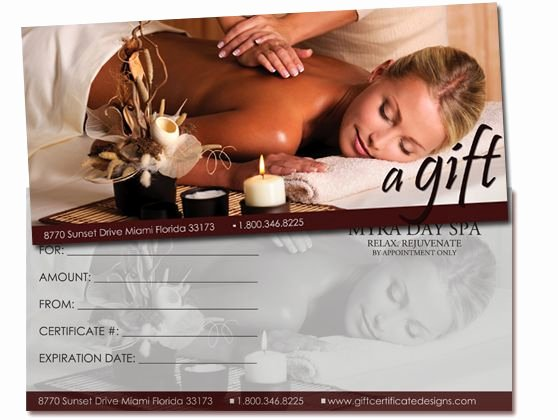 25 Best Images About Gift Certificates On Pinterest