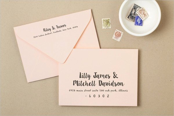 25 Examples Of Invitation Envelopes