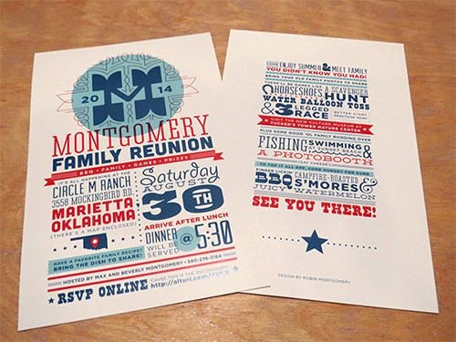 25 Family Reunion Invitation Templates Free Psd