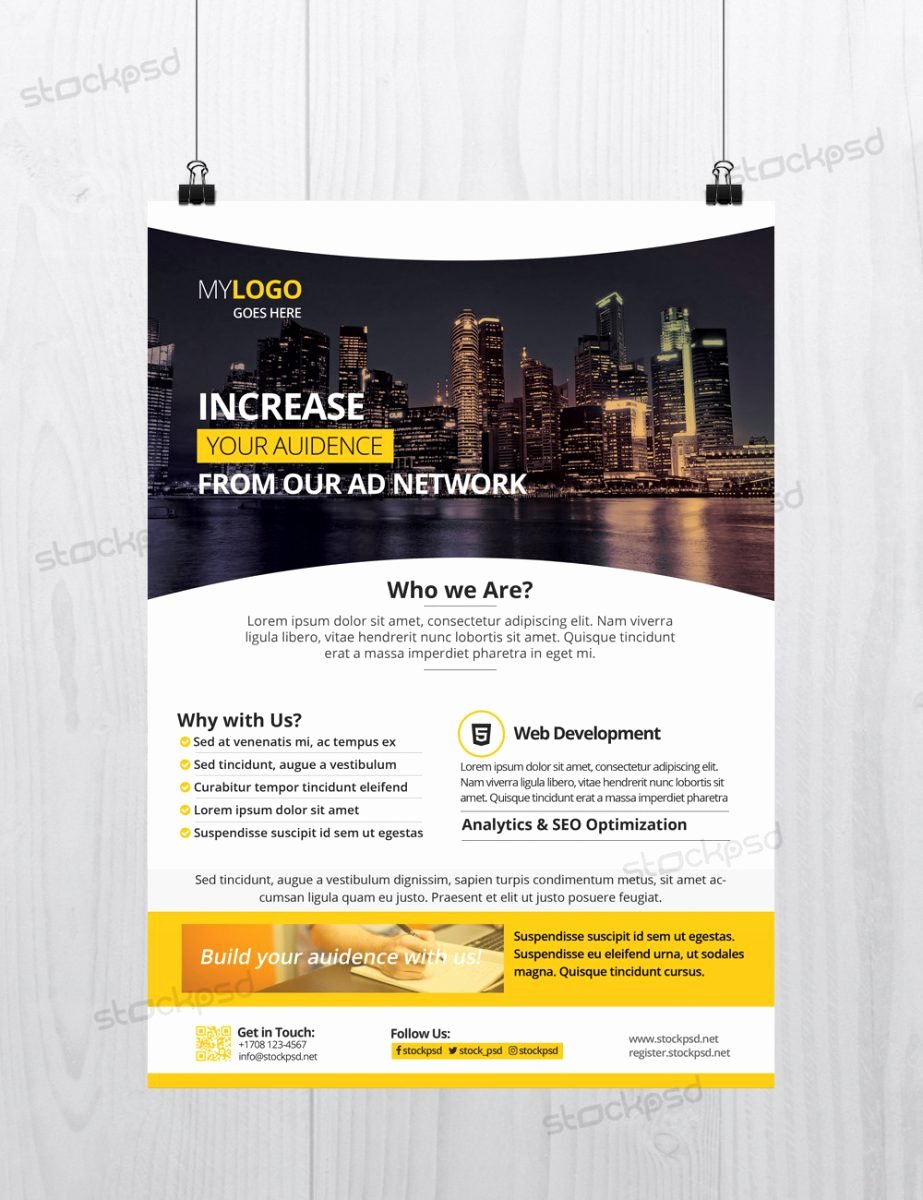 25 Free Business Flyer Templates for Shop Mashtrelo