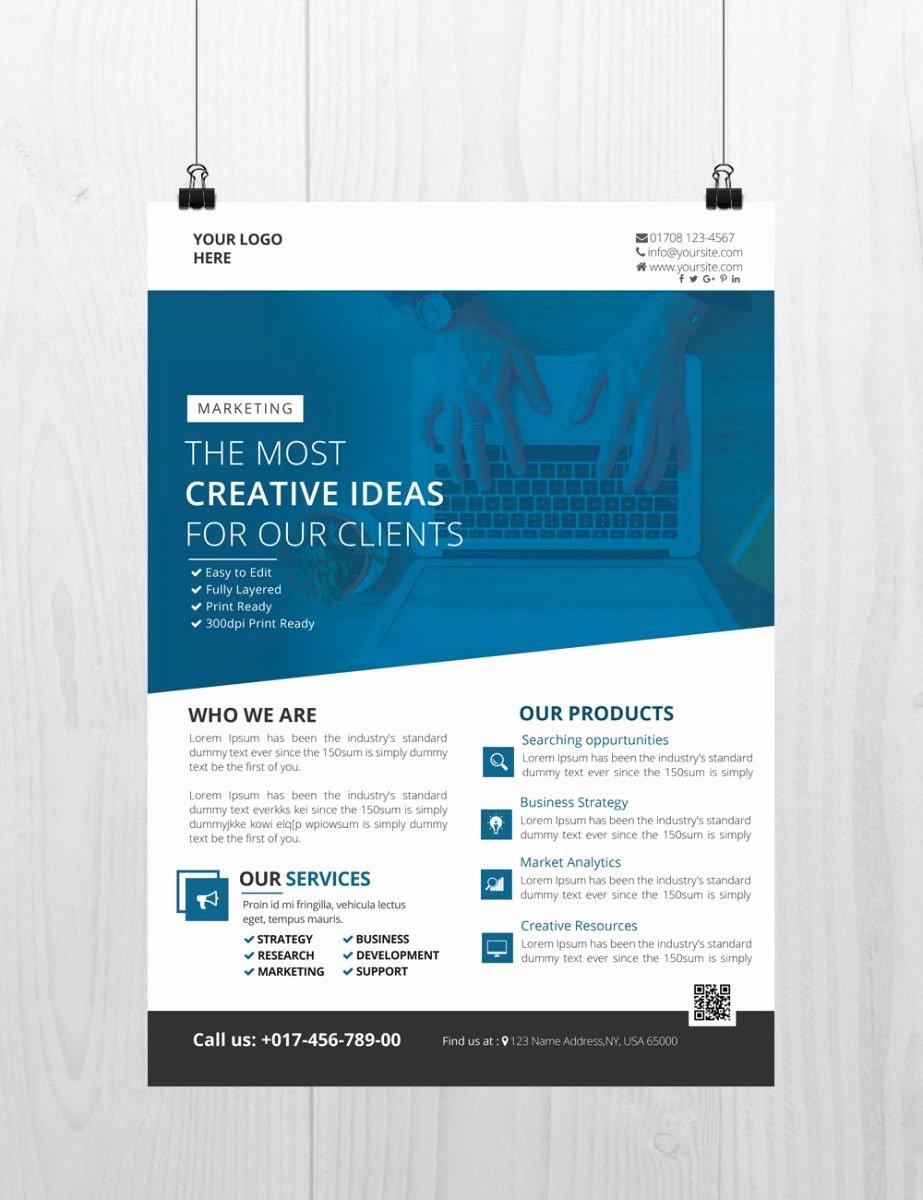25 Free Business Flyer Templates for Shop Mashtrelo
