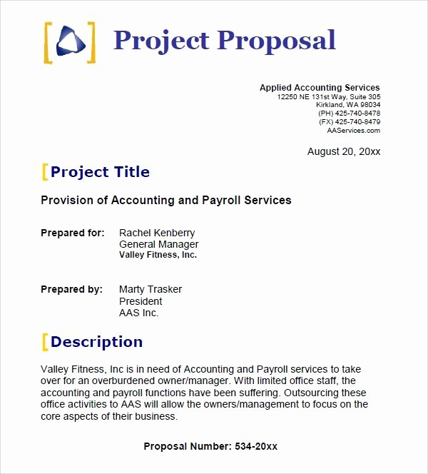 25 Free Business Proposal Templates