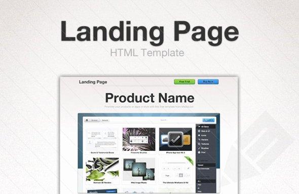 25 Free HTML Landing Page Templates 2017 Designmaz