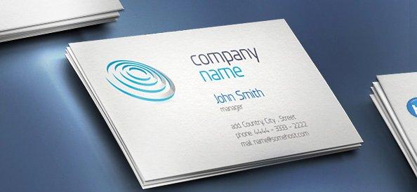25 Free Psd Business Card Template Designs Designmaz