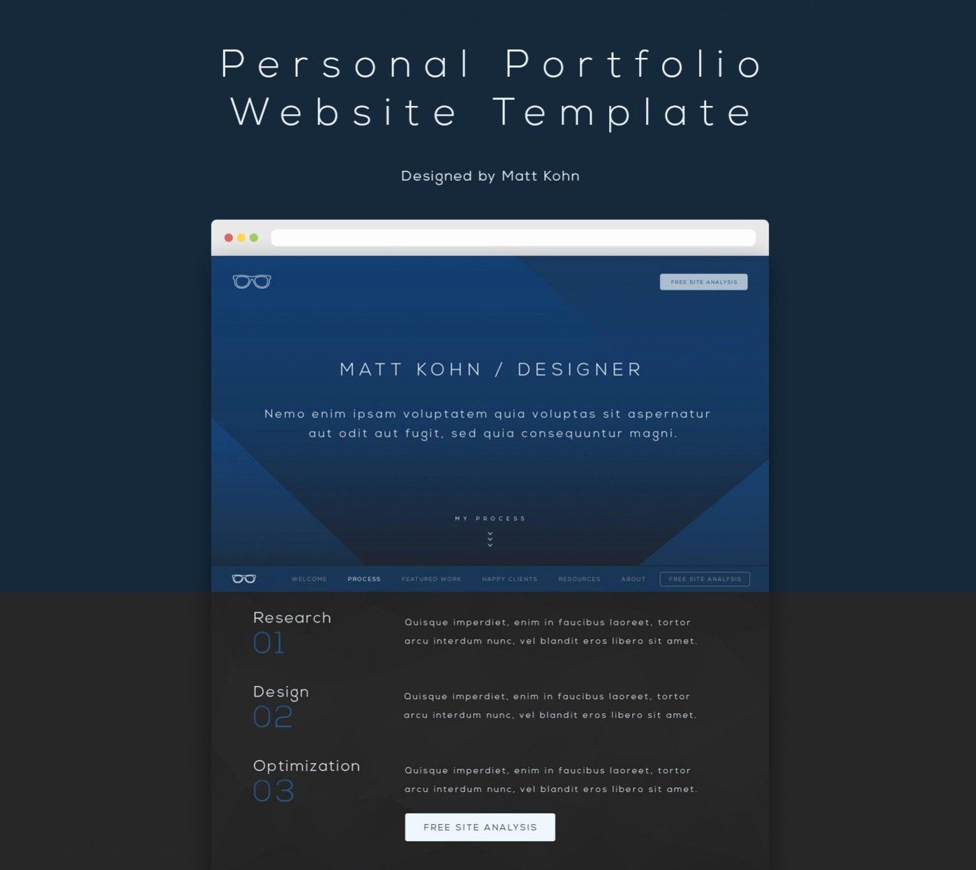 25 Free Website Templates Psd Ai Illustrator Download
