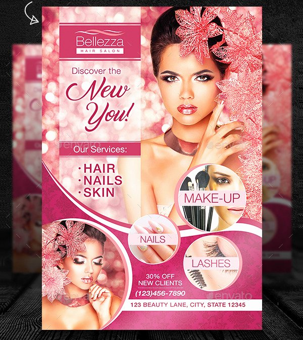 25 Hair Salon Flyer Templates Free & Premium Download
