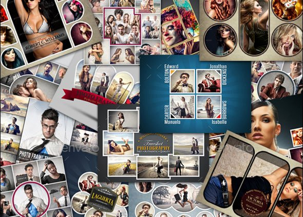 25 Killer Psd Collage Templates