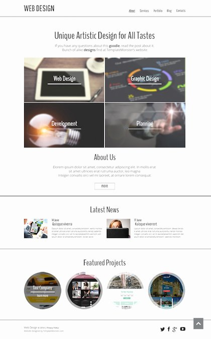 25 Latest Free HTML5 Website Templates – Neo Design