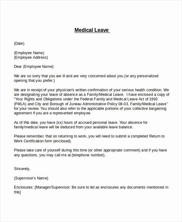 25 Leave Letter Templates Pdf Doc